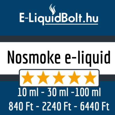 Nosmoke e-liquidek (10-30-100 ml)