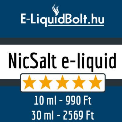 NicSalt e-liquid